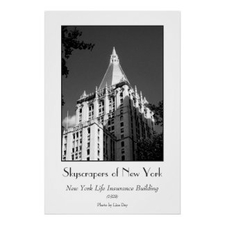 New York Life Insurance Building Poster