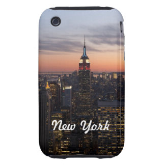 New York Lights iPhone 3 Tough Case