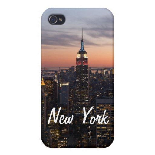 New York Lights iPhone 4/4S Cases