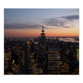 New York Lights Print