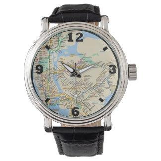 New York Line design Watch