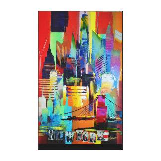 New York Long 192 Canvas Print