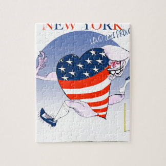 new york loud and proud, tony fernandes jigsaw puzzle