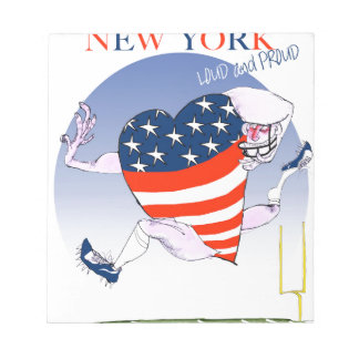 New York Loud and Proud, tony fernandes Notepad