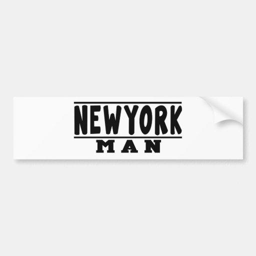 New York Man Designs Bumper Stickers