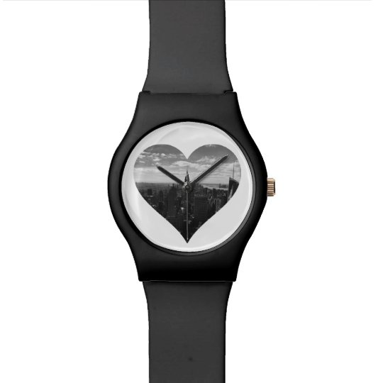 New York Manhattan Empire State Heart Watch