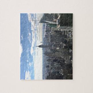 New York Manhattan Empire State Jigsaw Puzzle