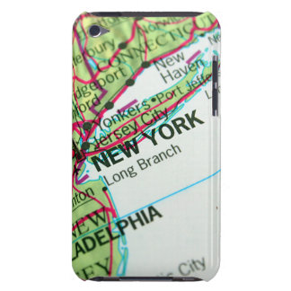New York Map Barely There iPod Cases