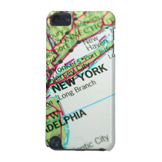 New York Map iPod Touch (5th Generation) Covers