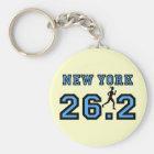 New York Marathon Key Ring
