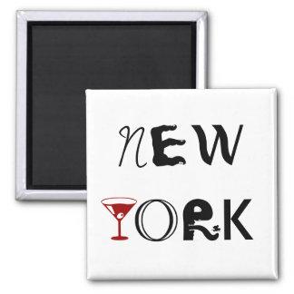 New York Martini Magnet