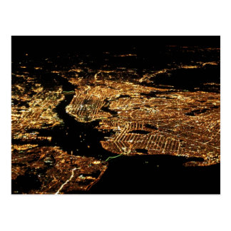 New York Metro Aerial Postcard