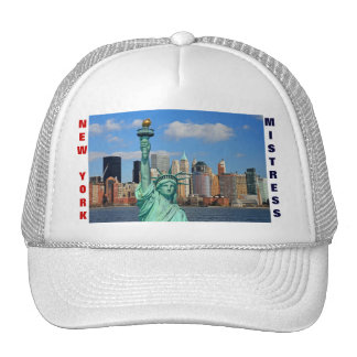 NEW YORK MISTRESS TRUCKER HAT