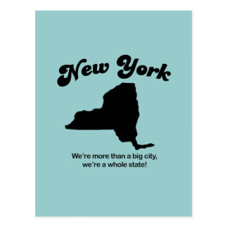 New York Motto - A whole state Postcard
