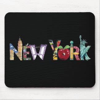 New York mousepad