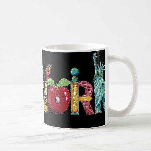 New York- mug