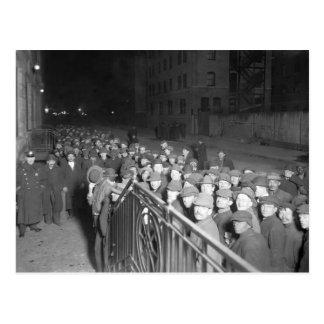 New York Municipal Lodging: early 1900s Postcard
