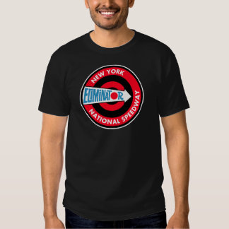 New York National Speedway Vintage sign Tee Shirts