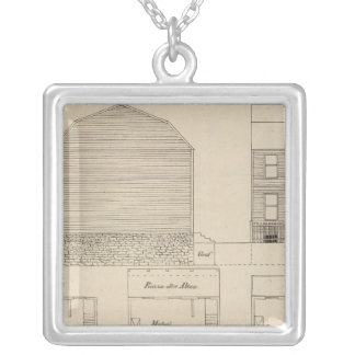 New York, New Jersey, Pennsylvania Silver Plated Necklace