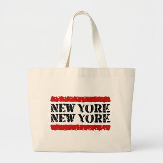 New York - New York Big City Design Large Tote Bag