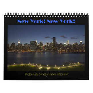 New York! New York! Calendar