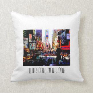 New York, New York Cushion