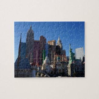 New York – New York Hotel Jigsaw Puzzle