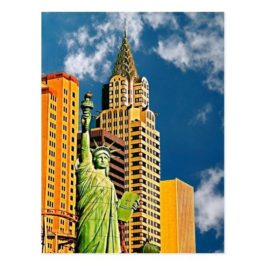 New York, New York Hotel, Las Vegas, Postcard
