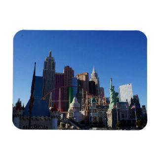New York – New York Hotel Photo Magnet