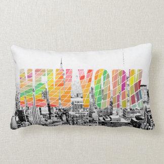 New York, New York Lumbar Cushion