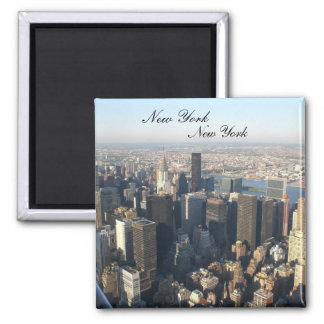 New York, New York Square Magnet