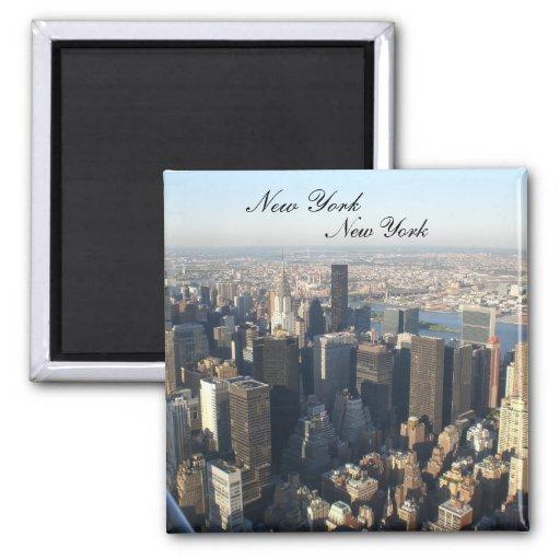 New York, New York Refrigerator Magnet