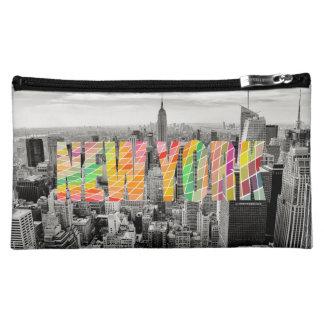 New York, New York Makeup Bag