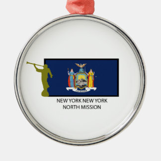 NEW YORK NEW YORK  NORTH MISSION LDS CTR CHRISTMAS ORNAMENT