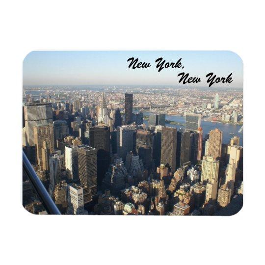 New York, New York Rectangular Photo Magnet