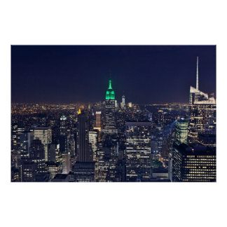 manhattan skyline posters prints. Black Bedroom Furniture Sets. Home Design Ideas