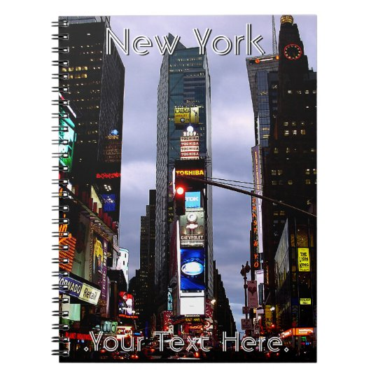 New York Notebook Personalised NY Souvenir Journal