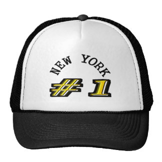 New York Number 1 Template Cap
