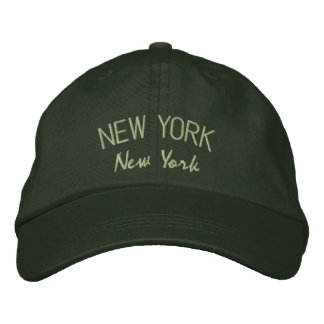 New York NY Embroidered Hat