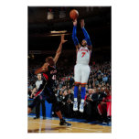 NEW YORK, NY - FEBRUARY 22:  Carmelo Anthony #7