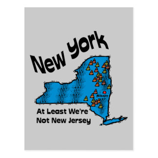 New York NY Motto At Least We re Not New Jersey Post Cards