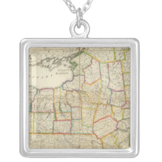 New York, NY Silver Plated Necklace