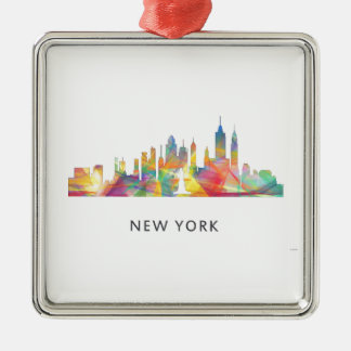 NEW YORK, NY SKYLINE WB1 - CHRISTMAS ORNAMENT