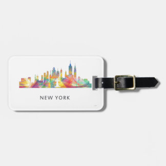 NEW YORK, NY SKYLINE WB1 - LUGGAGE TAG