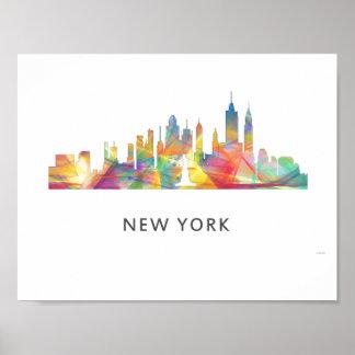 NEW YORK, NY SKYLINE WB1 - POSTER