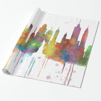 NEW YORK, NY SKYLINE - Wrapping Paper