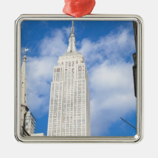 New York, NY, USA - A view of downtown New Christmas Ornament