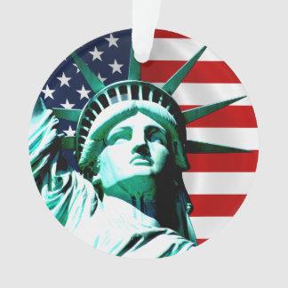 New York (NY) USA - The Statue of Liberty Ornament