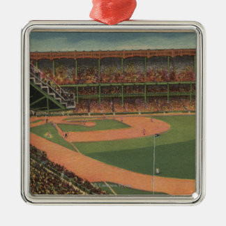 New York, NY - Yankee Stadium Christmas Ornament