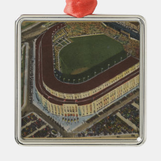 New York, NY - Yankee Stadium from the Air #1 Christmas Ornament